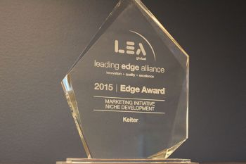 Keiter Honored by Leading Edge Alliance for EmergingRVA