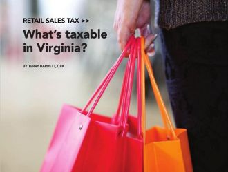 Retail Sales Tax…What's Taxable in Virginia?