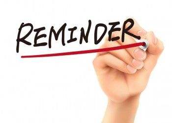 Due Date Reminders for Non-Income Tax Related Filings