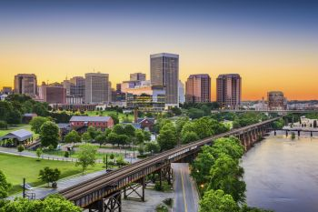 This is where we live…Richmond, Virginia!