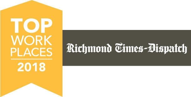 Richmond Times Dispatch Top Workplaces 2018 - Keiter CPA