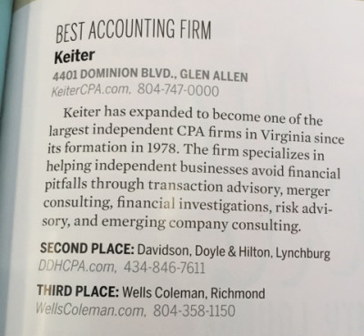 Best Accounting Firm - VA Living