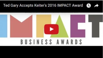 Keiter CPAs, 2016 ChamberRVA IMPACT Award