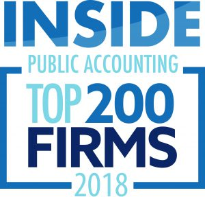 Inside Public Accounting Top 200 Firms 2018 - Keiter CPA
