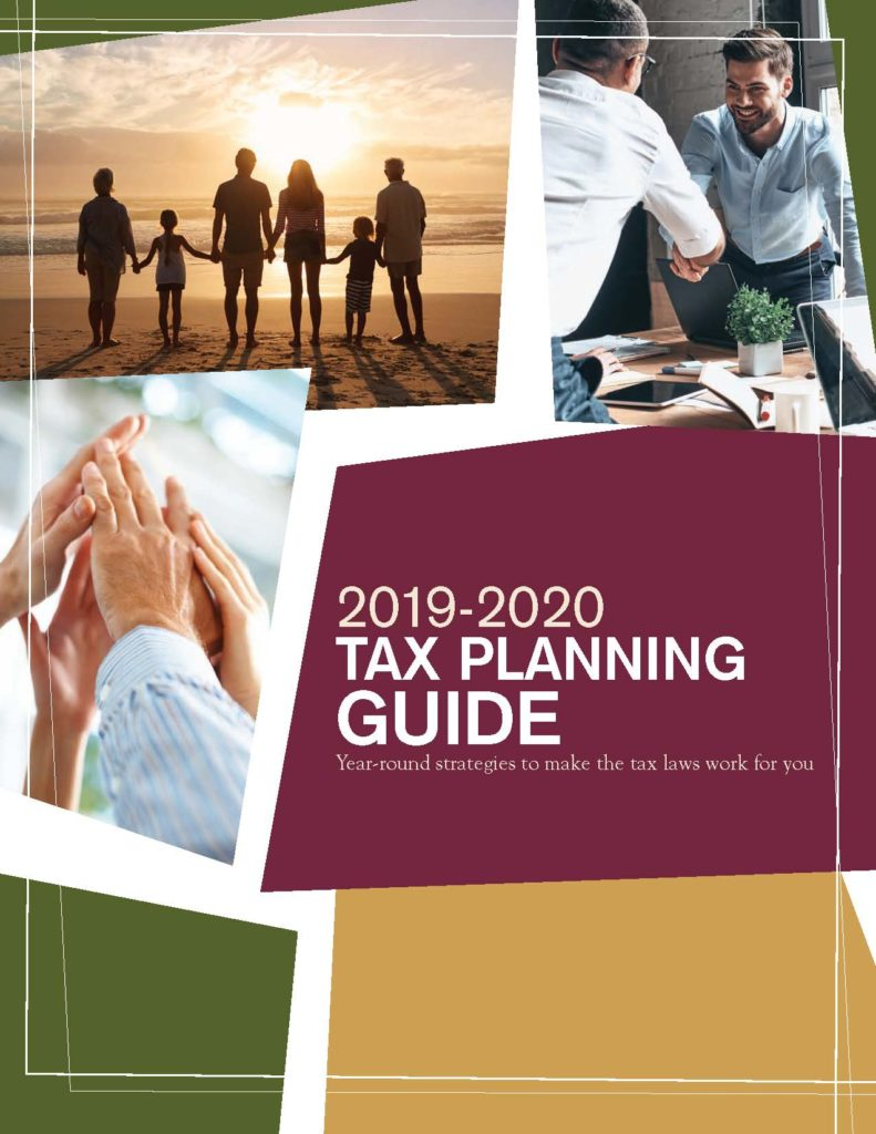 2020 TAX PLANNING GUIDE