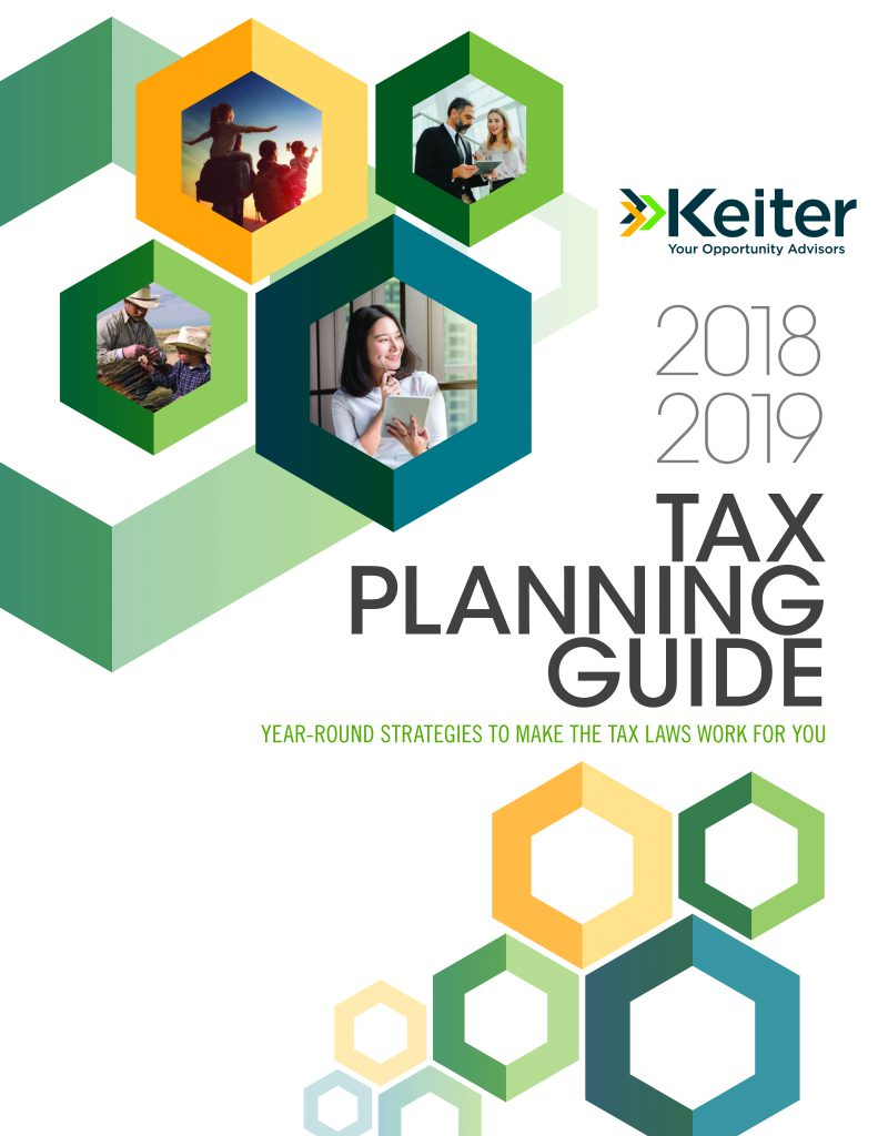 2019 TAX PLANNING GUIDE