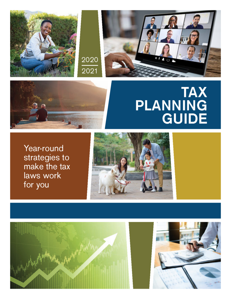 2021 TAX PLANNING GUIDE