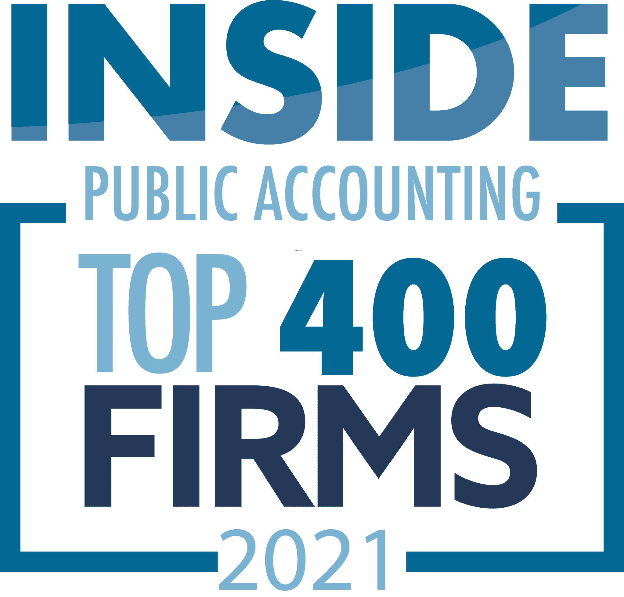 Inside Public Accounting Top 400 Firm 2021