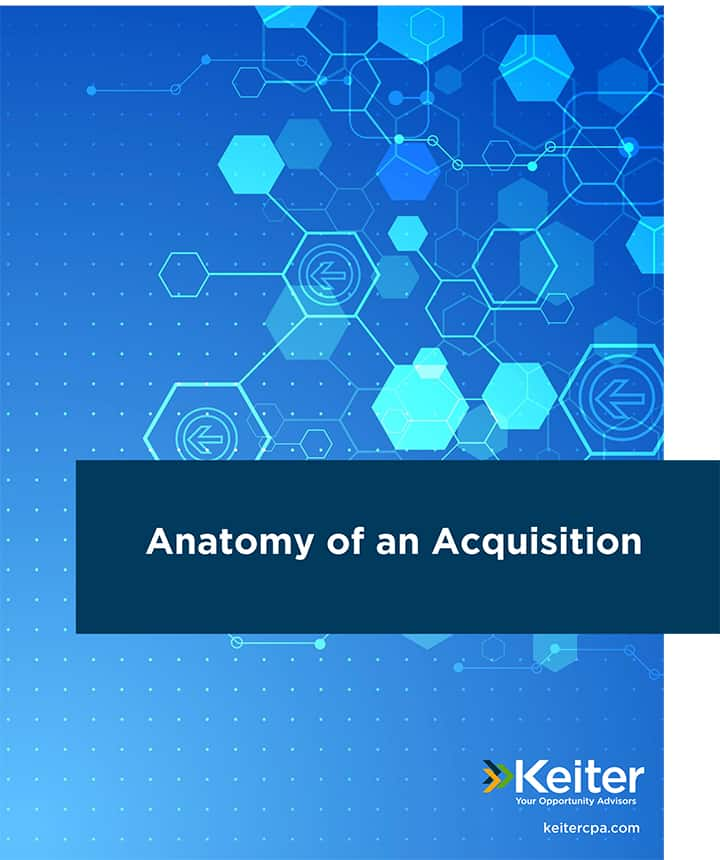 ANATOMY OF AN ACQUISITION
