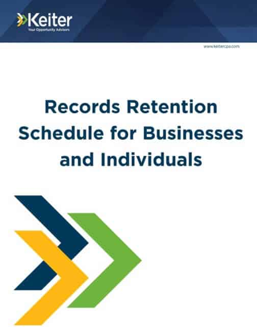 RECORD RETENTION GUIDES