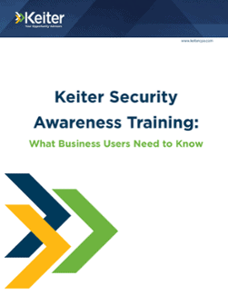 KEITER ON-SITE SECURITY AWARENESS TRAINING