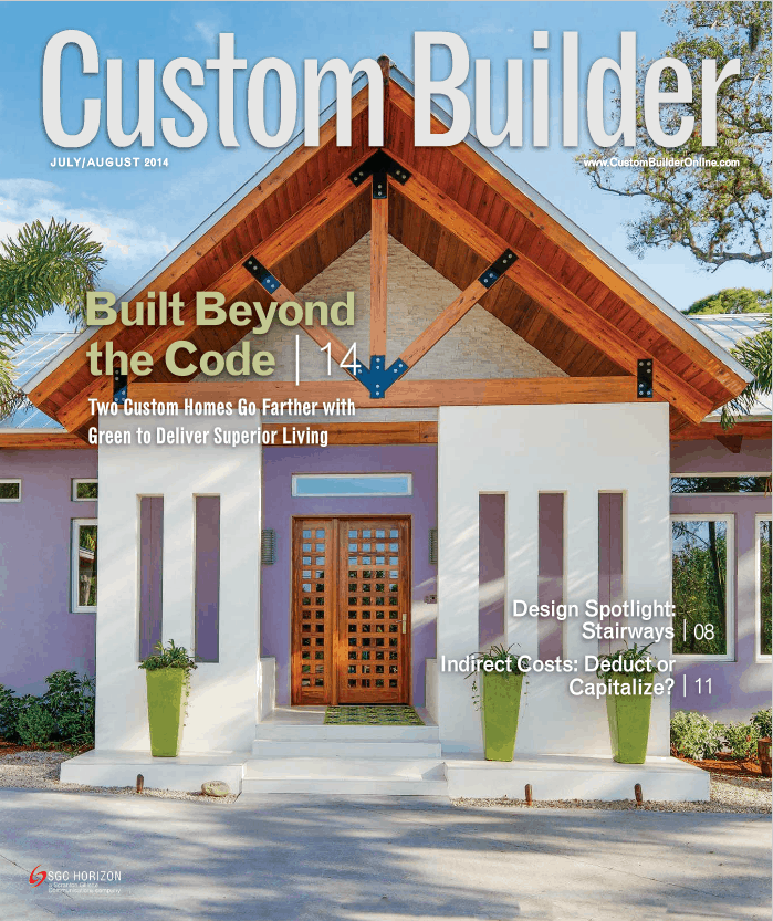 Mike Gracik Published in Custom Builder Magazine