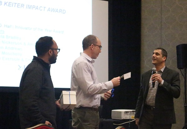 John Murray and Asif Charania Named 2018 Keiter Impact Winners