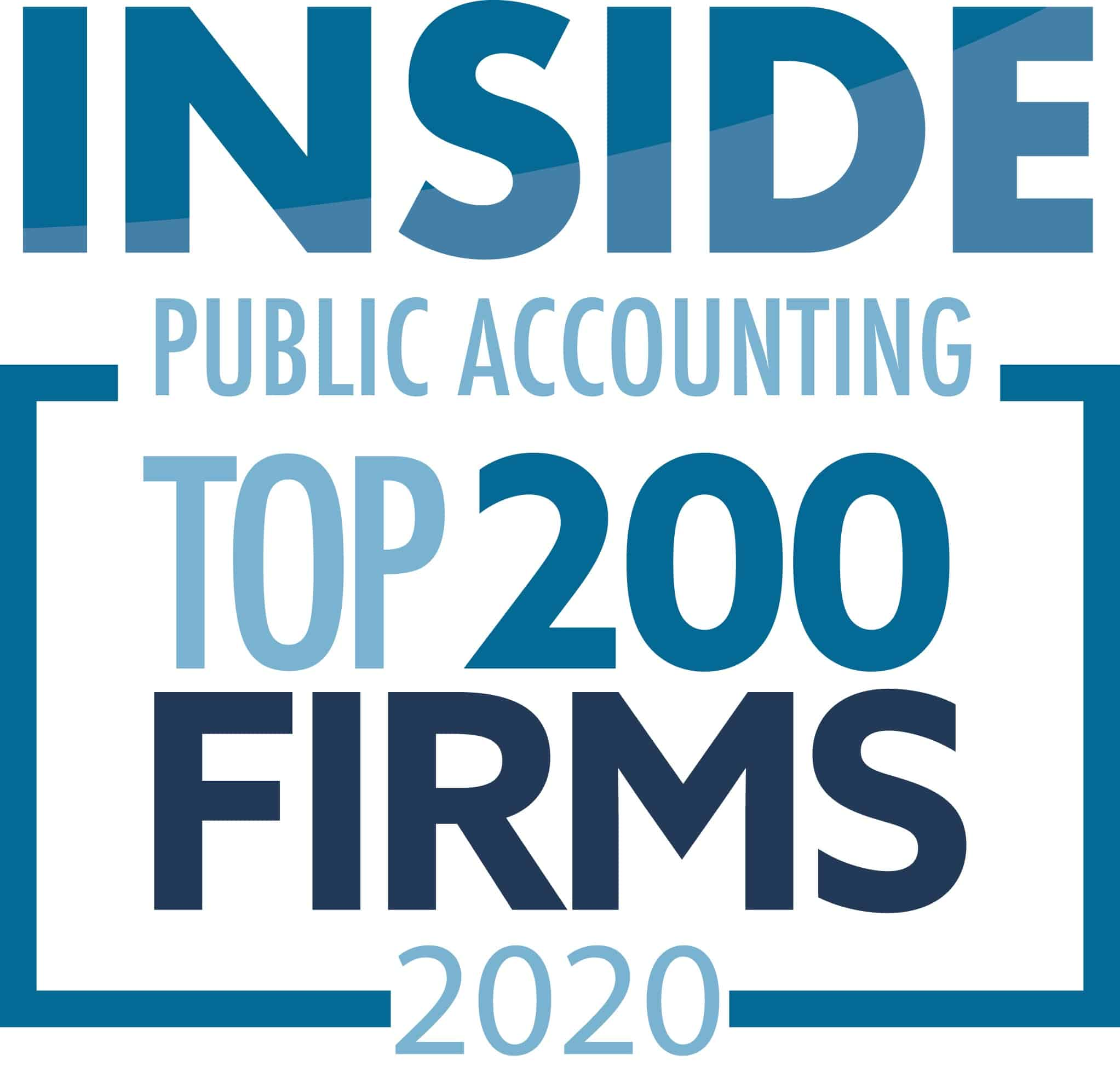 INSIDE 2020 Top Accounting Firm - Virginia Accounting Careers