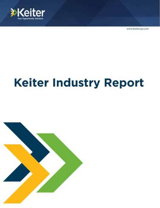 REQUEST A KEITER INDUSTRY REPORT