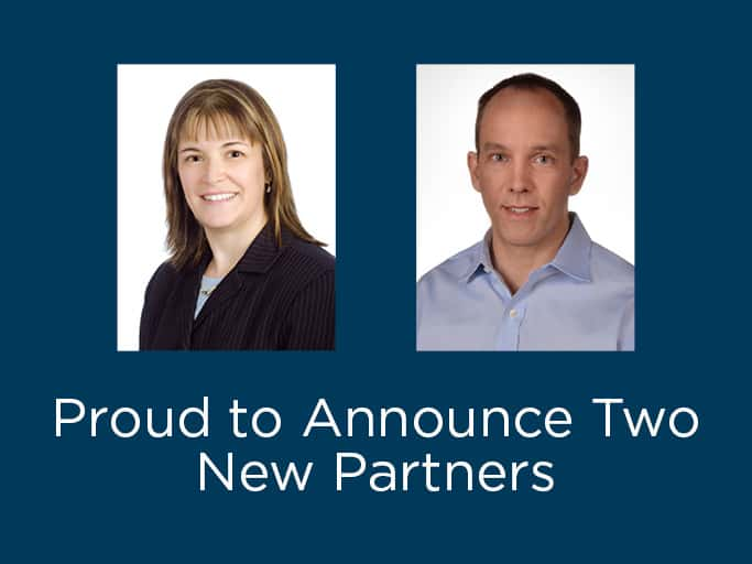 Keiter Announces Two Partner Promotions