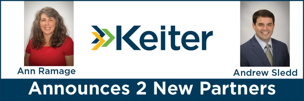Keiter Promotes Two to Partner