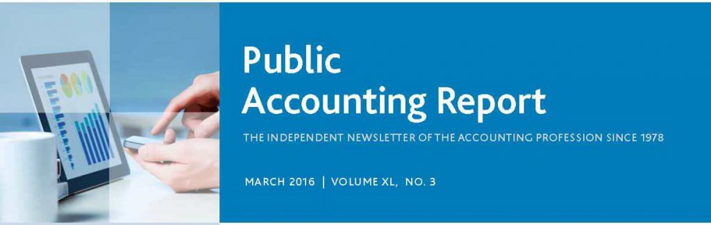 Public Accounting Report: Julie Gustavsson discusses recruiting and retaining staff