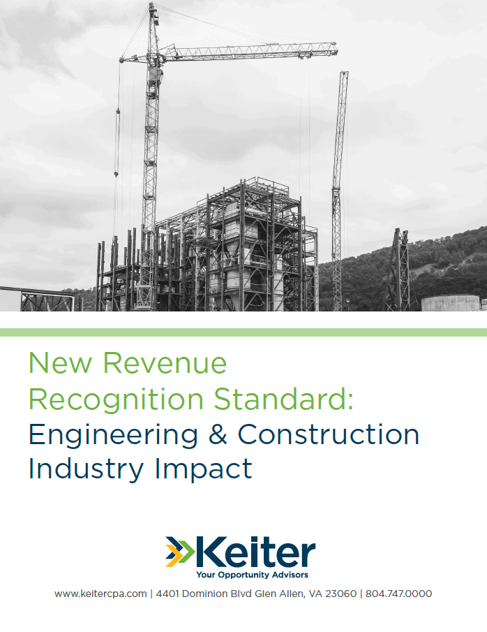 How Will Revenue Recognition Impact Engineering and Construction Businesses?