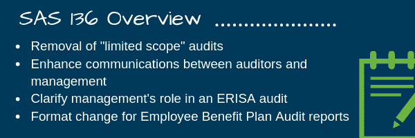 SAS 136 | Employee Benefit Plan Audits | Keiter CPAs