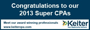 "15 Keiter CPAs Named ""Super CPAs"" in Virginia Business"