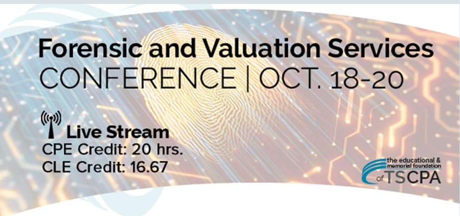 Harold Martin to Speak at the Forensic and Valuation Services Conference