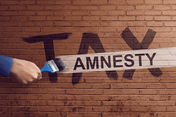 """""""Tax amnesty: Righting tax wrongs"""""""